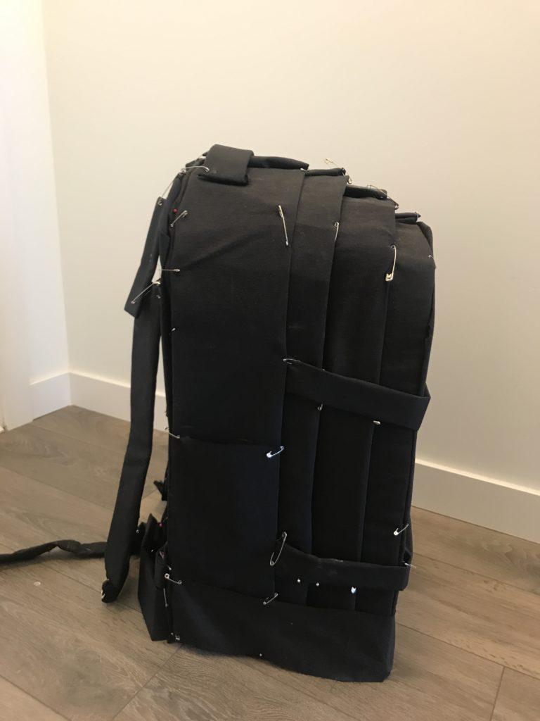 pin bag prototype