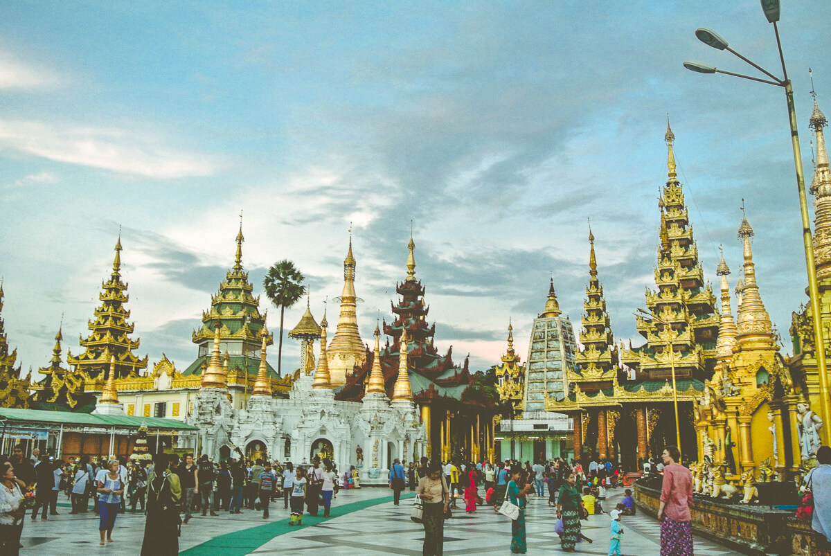 Myanmar Itinerary Day 1-2 Yangon