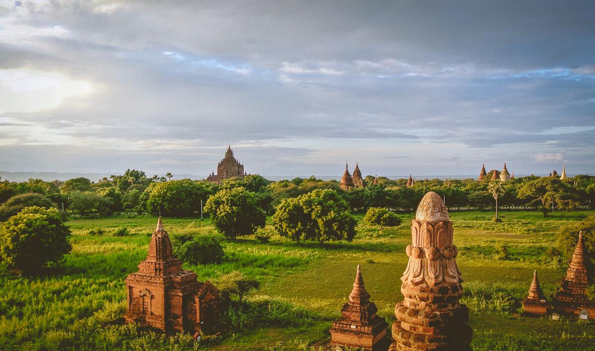 Myanmar Itinerary : Bagan Temples