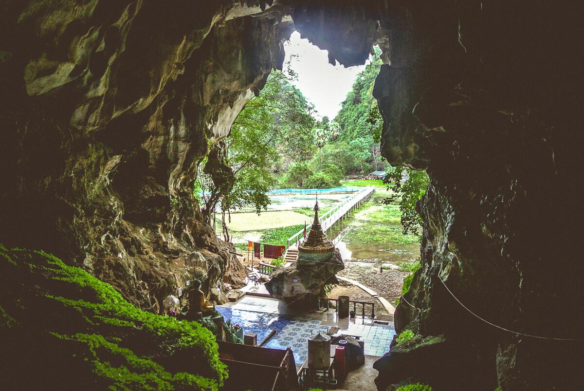 Saddar Cave Myanmar