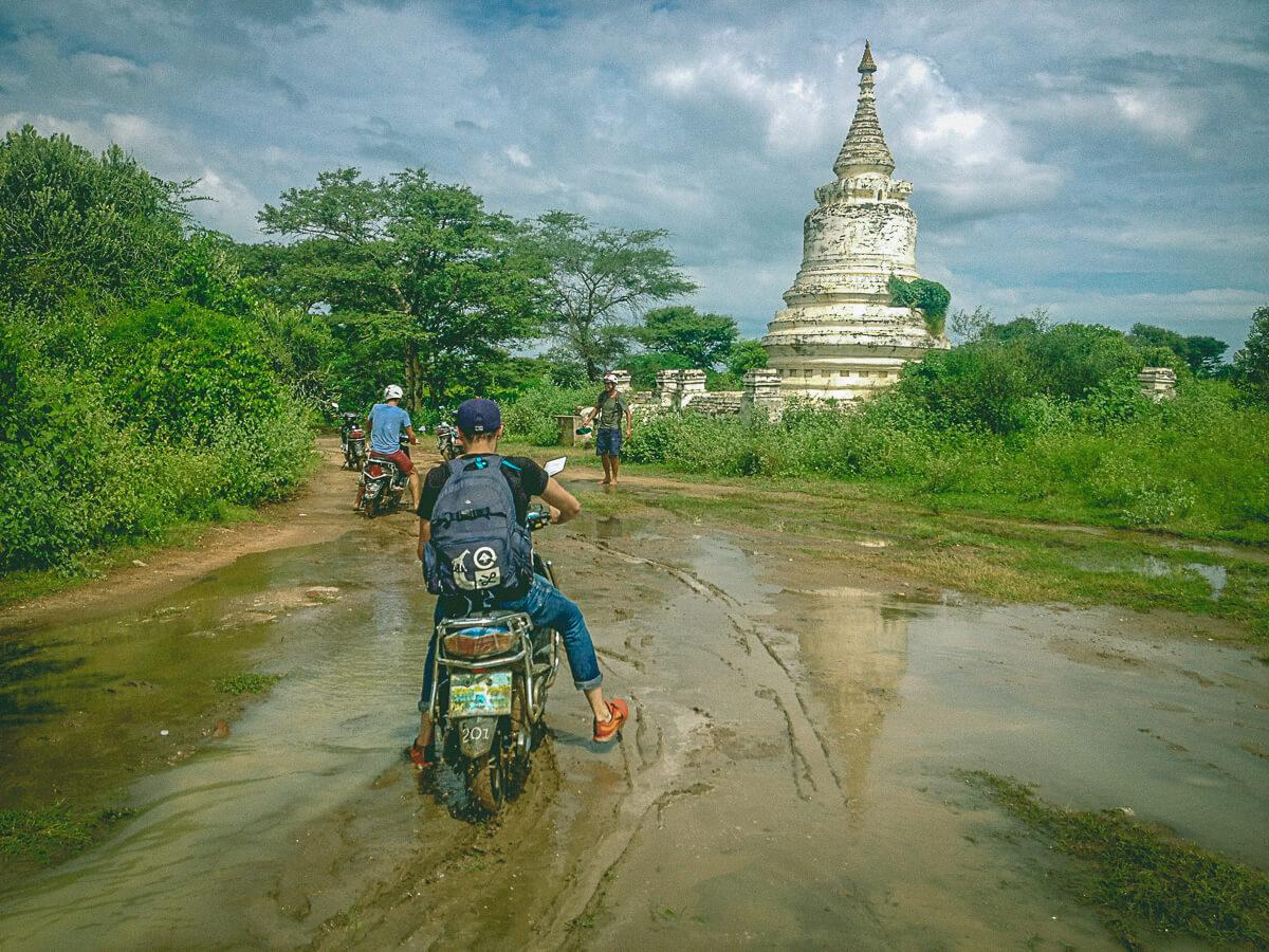 Bagan Temples by E-Bike