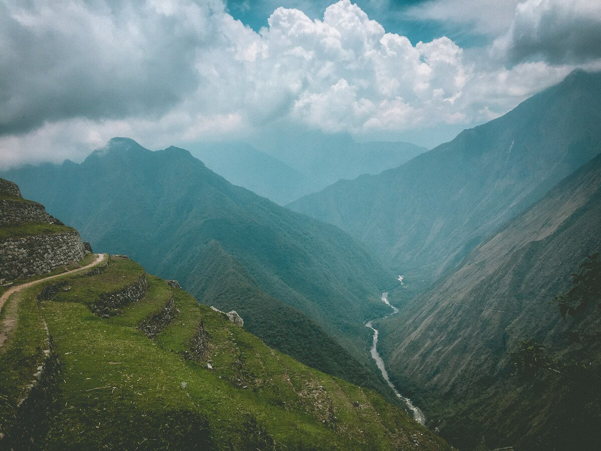 Inca Trail Rio Urubamba