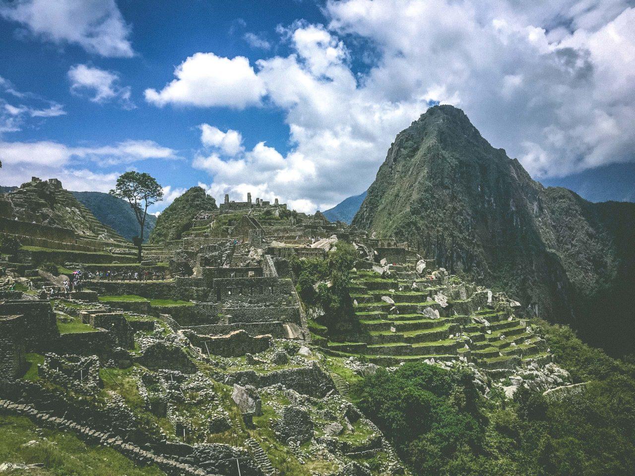 Machu Picchu awaits a successful trekker