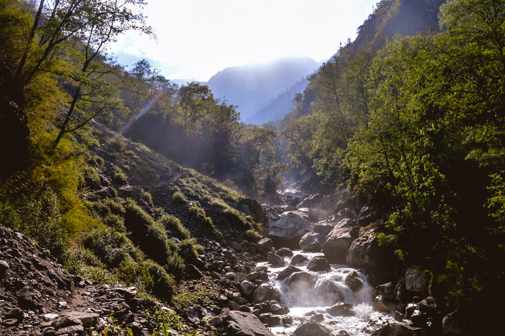 River on the Langtang Trek