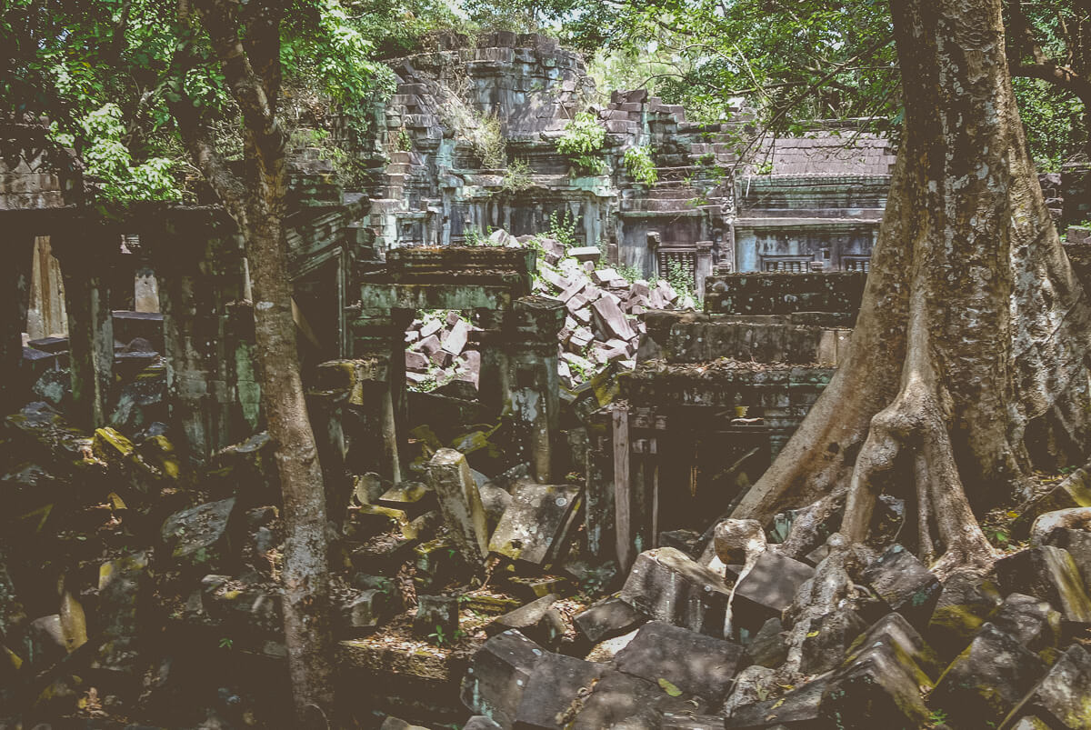secluded temples in siem reap
