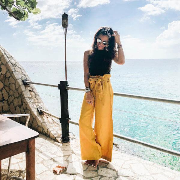 Water Thru Skin Travel Outfit