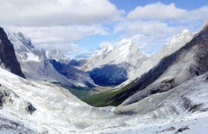 Rae Glacier Near Banff