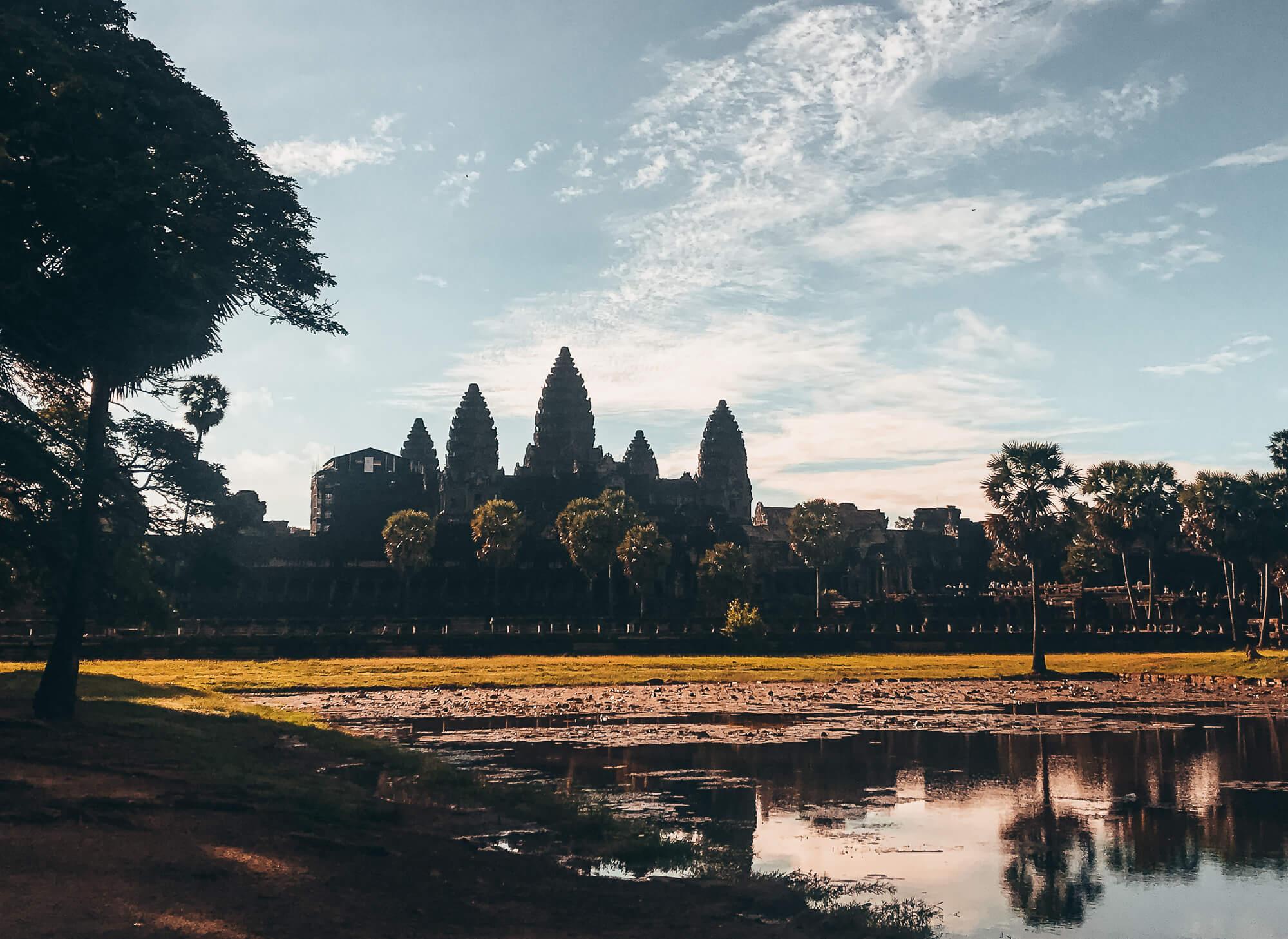 Angkor Wat a stop on the Banana Pancake Trail