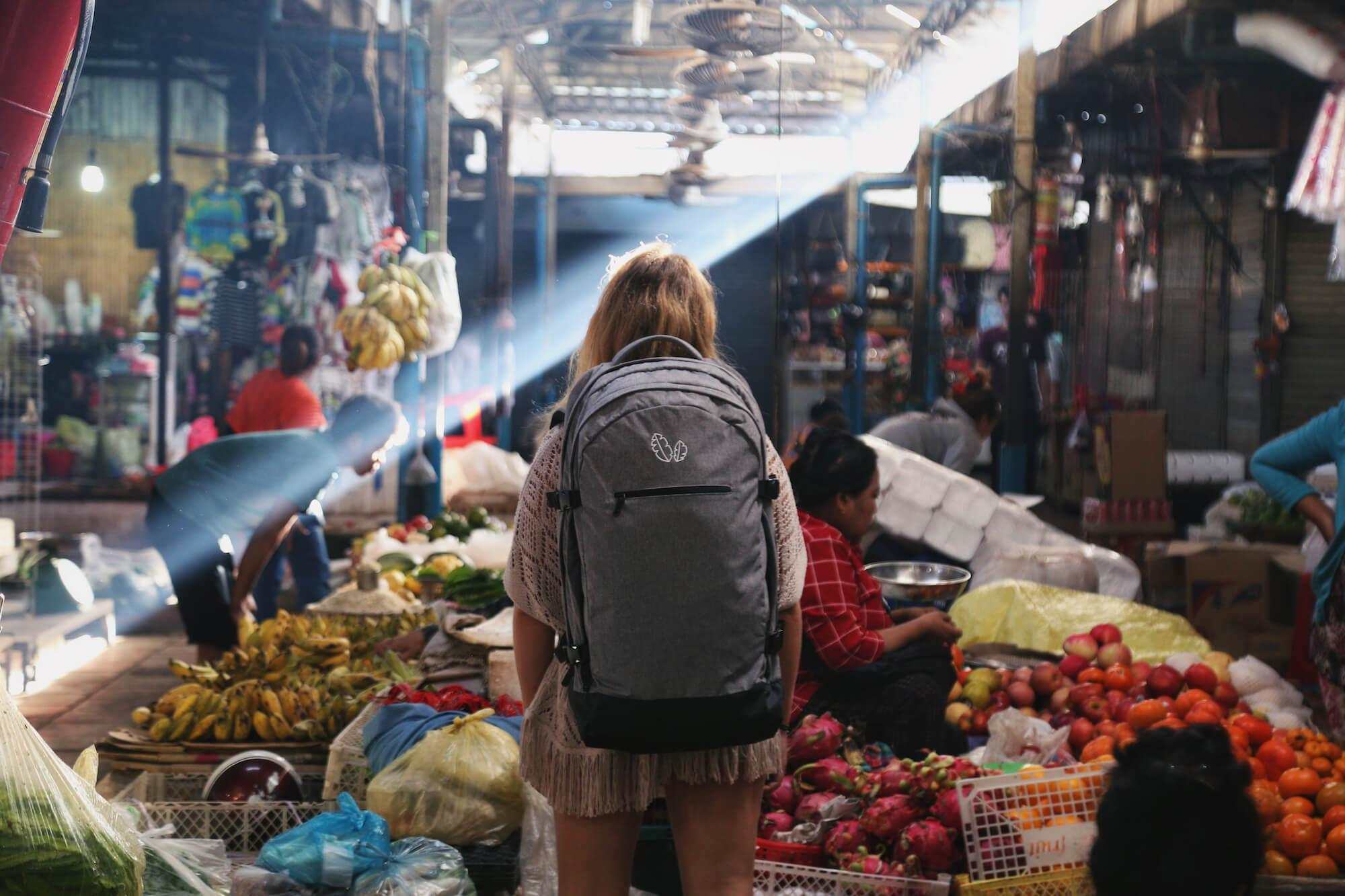 Markets Cambodia Itinerary