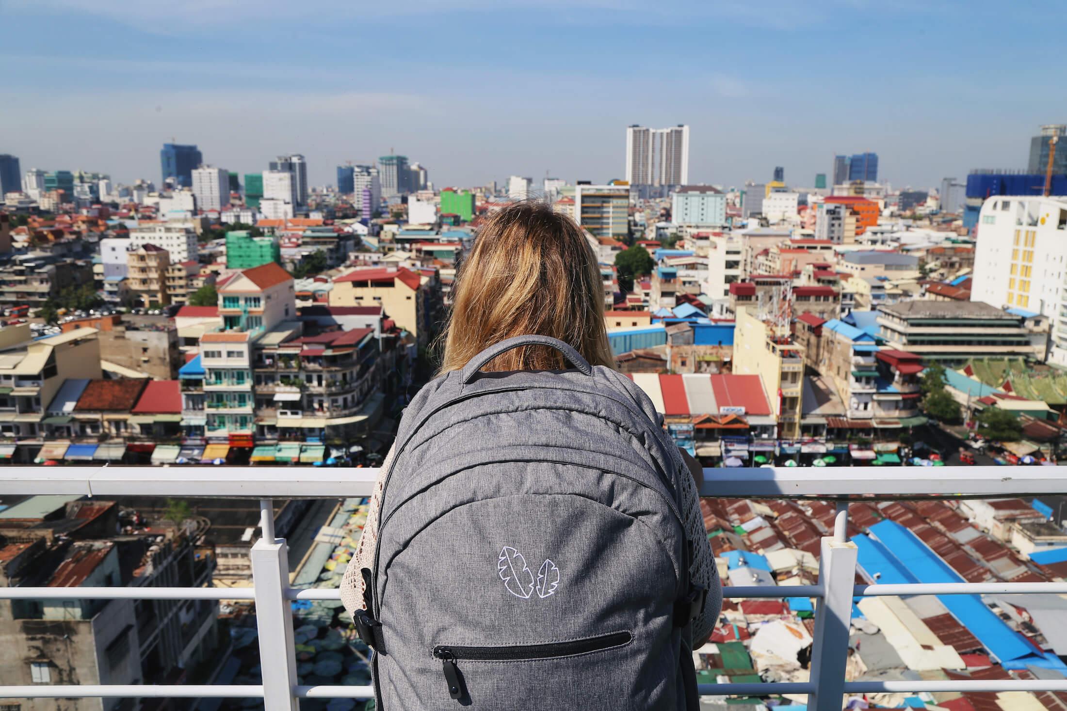 Phnom Penh city view on the Cambodia Itinerary