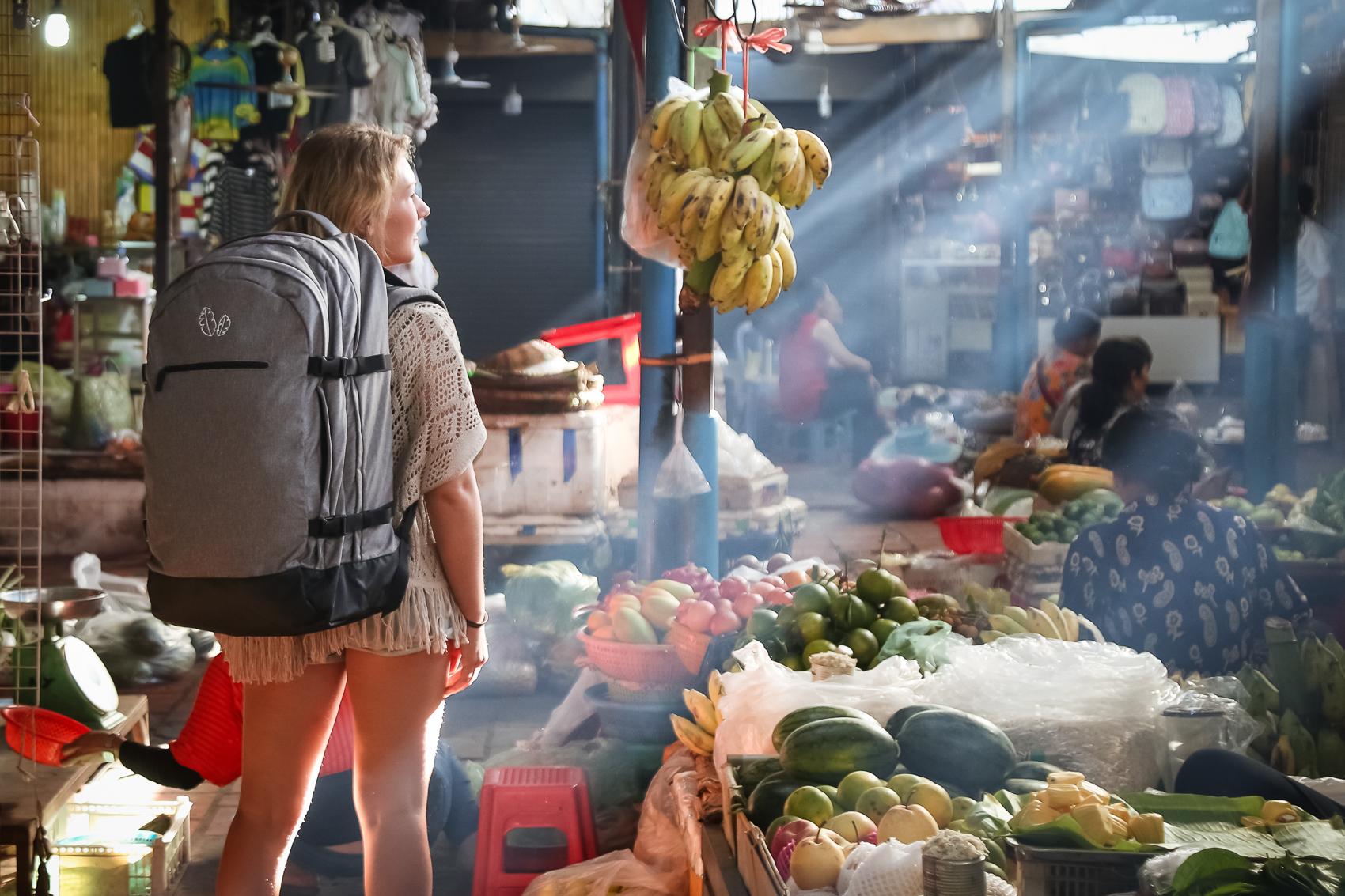 Markets in Phnom Penh
