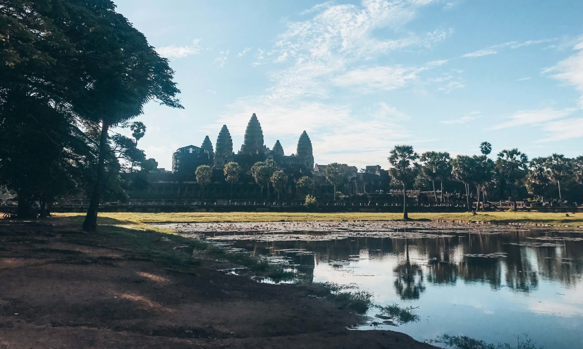 Sunrise at Angkor Wat an amazing thing to do in Cambodia