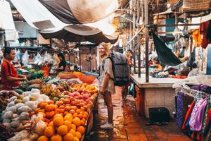 Visiting the Market in cambodia is one of the best things to do
