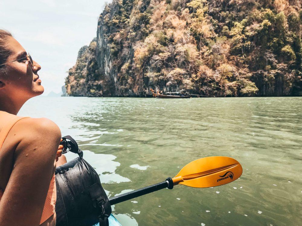 Ko Lanta talabeng sea kayaking
