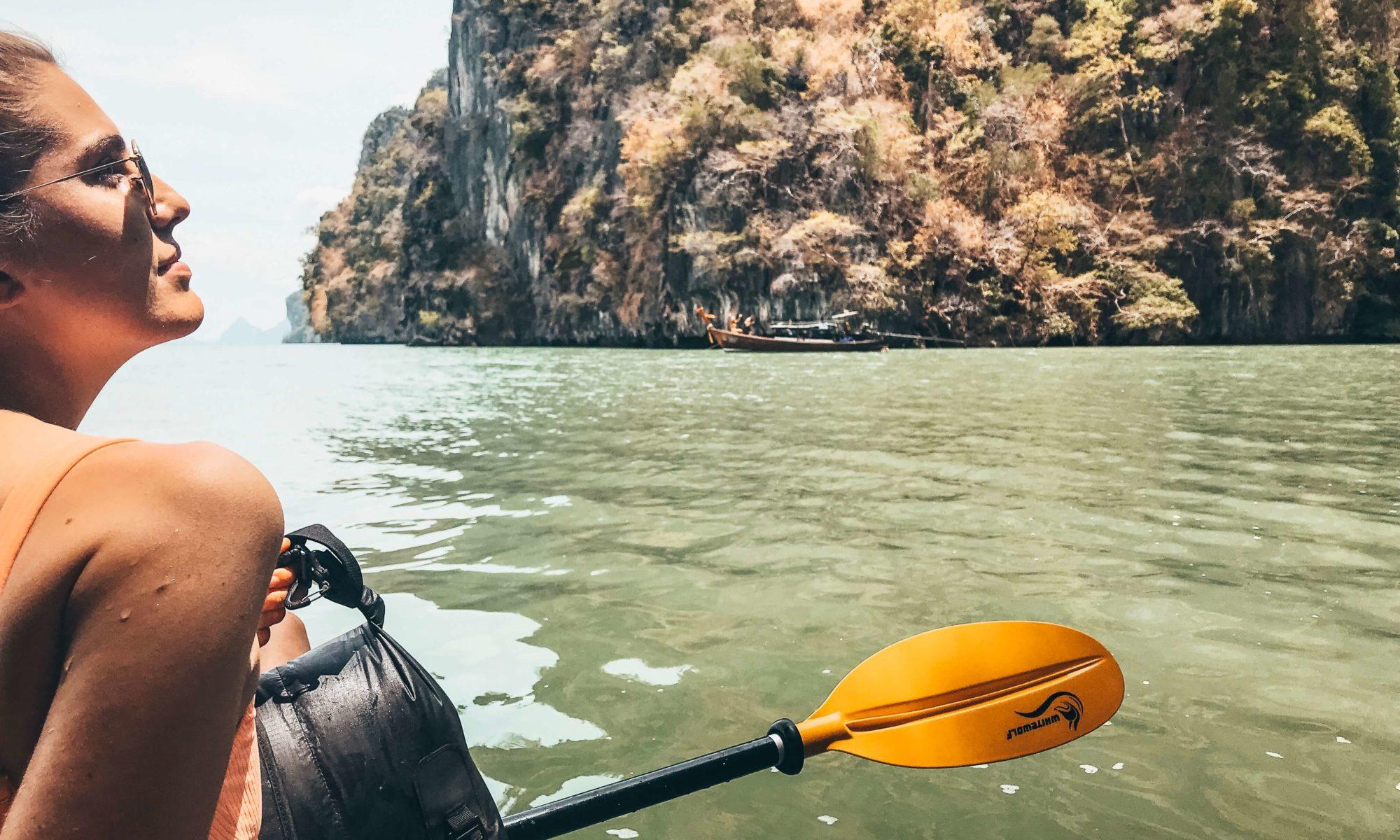 Koh Lanta talabeng sea kayaking