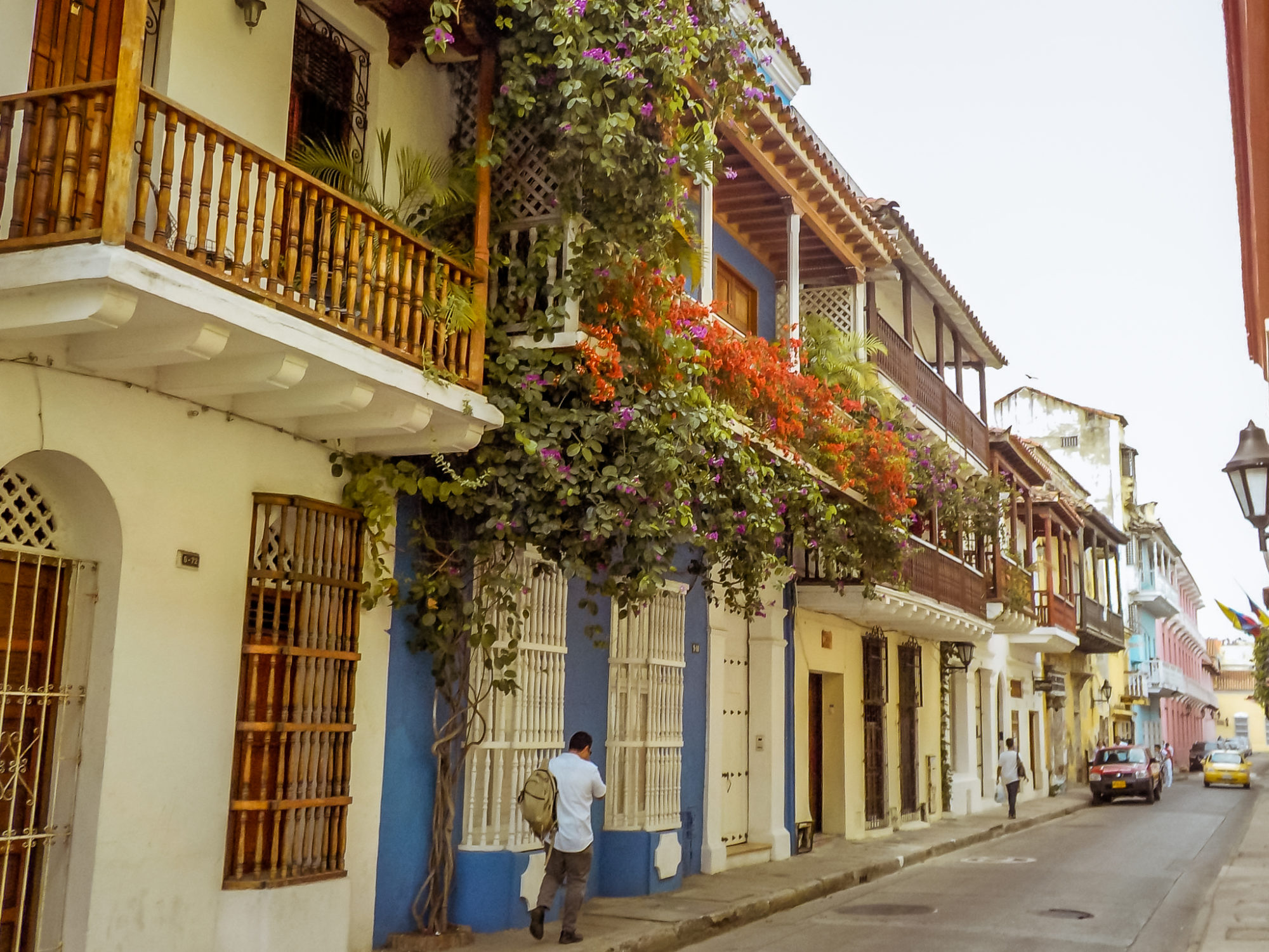 Cartagena Colombia Buildings