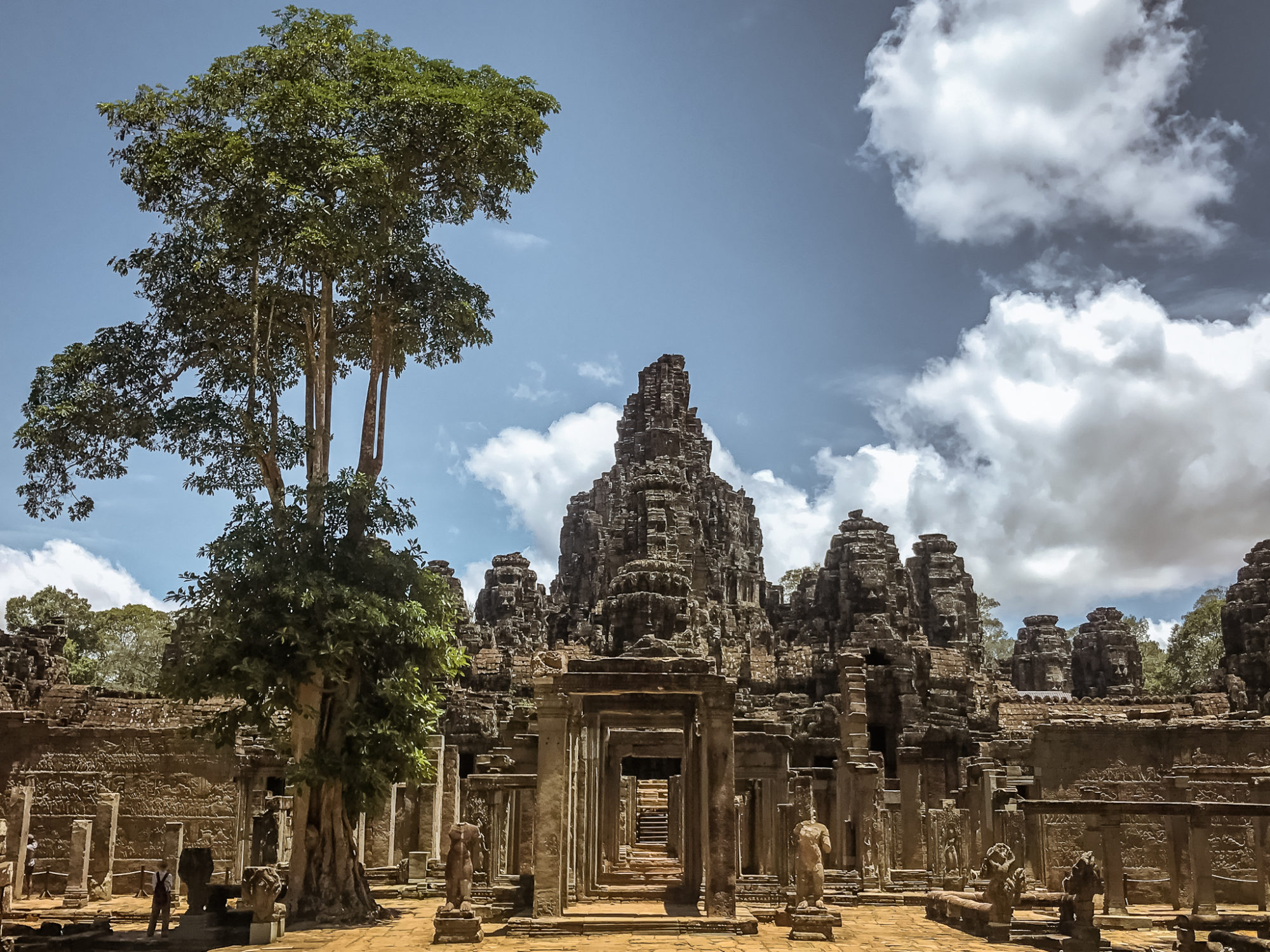 Bayon Temple in Cambodia's Siem Reap