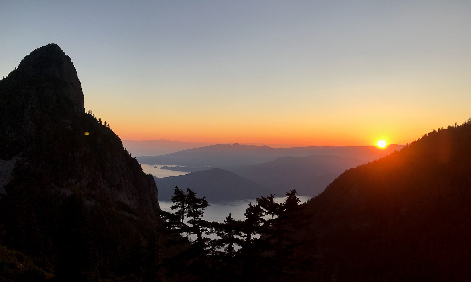 View from Magnesia Meadows on the Howe Sound Crest Trail
