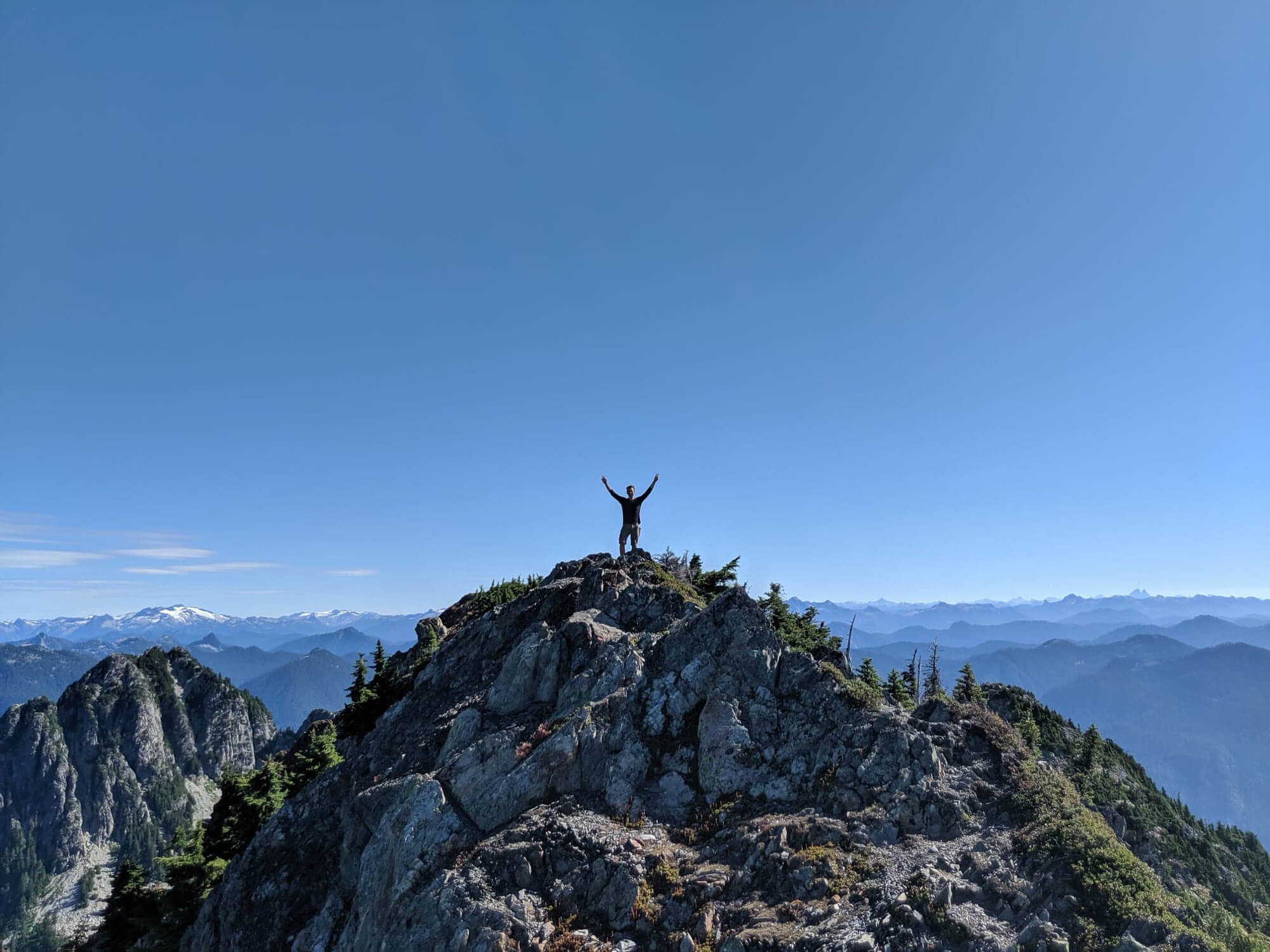 Brunswick Mountain on the howe sound crest trail