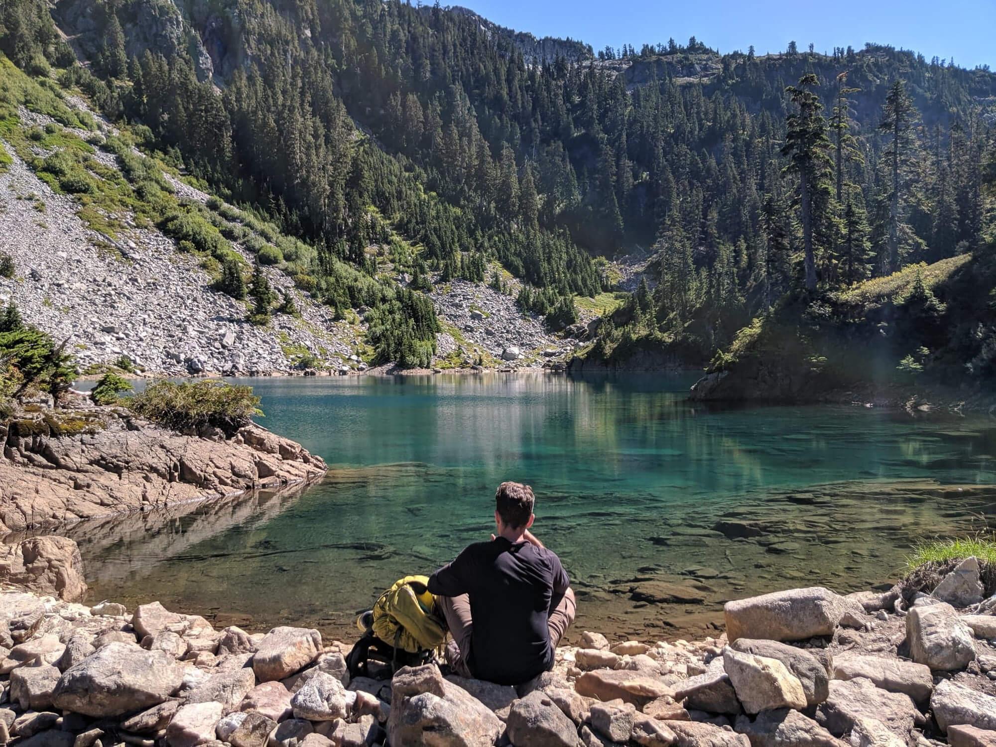 Brunswick lake the perfect spot for a swim