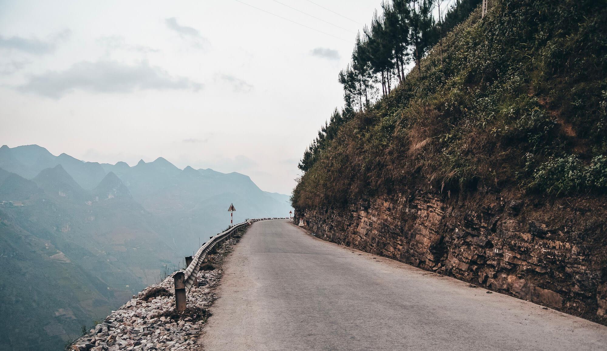 Empty Road on Ha Giang Loop