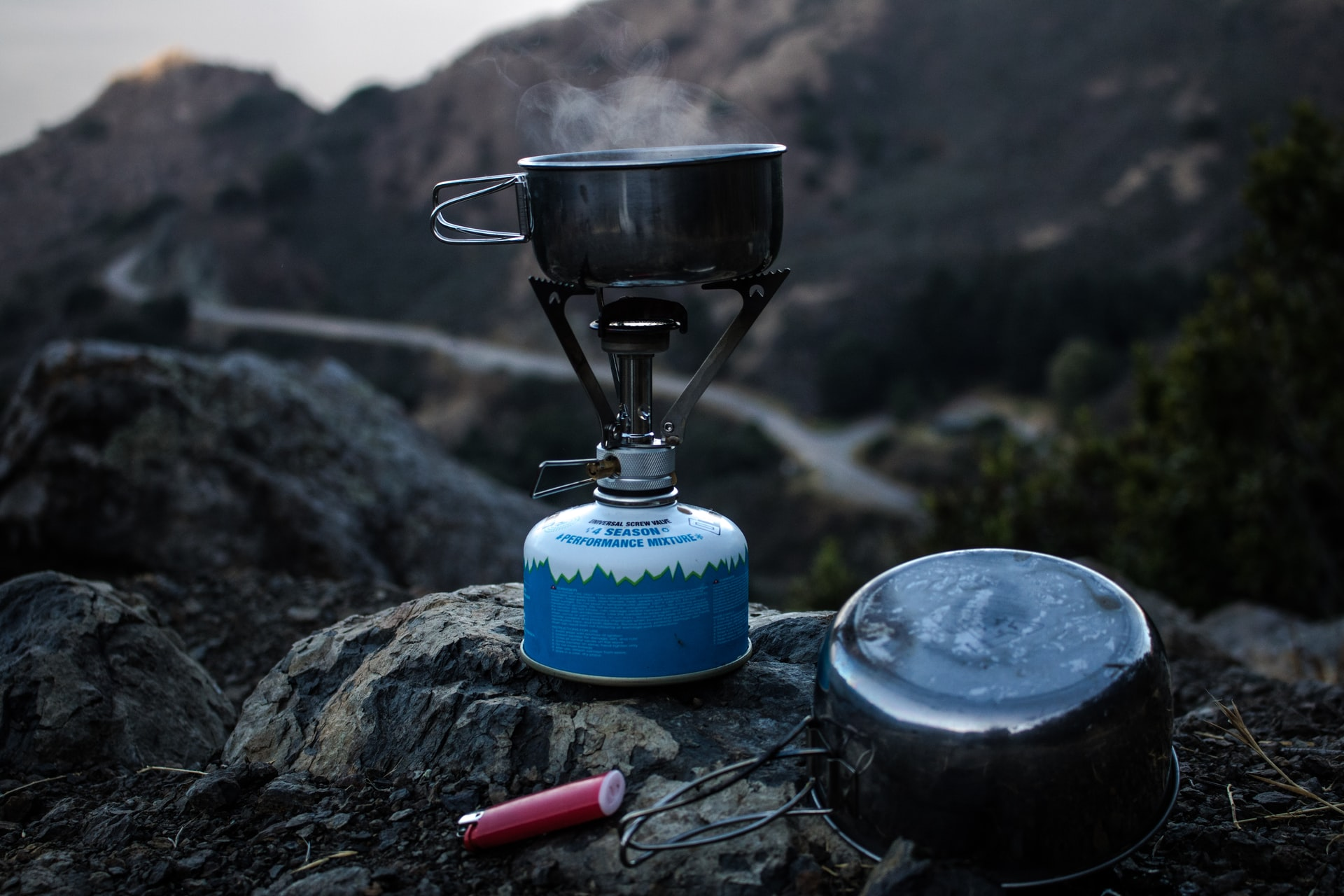 A good camp stove. Always a key item in any backpacking packing list
