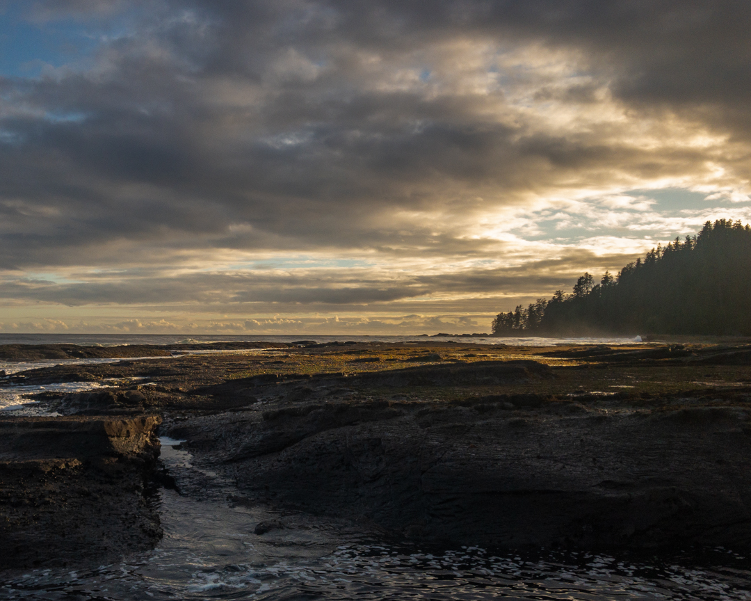 Sunset on Vancouver Island's West Coast Trail