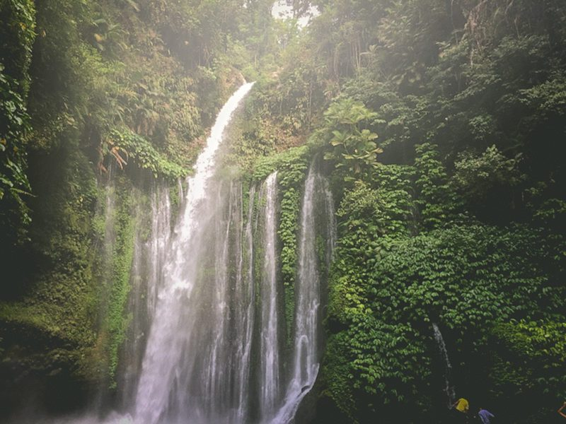 Off the Beaten Path Lombok Waterfall
